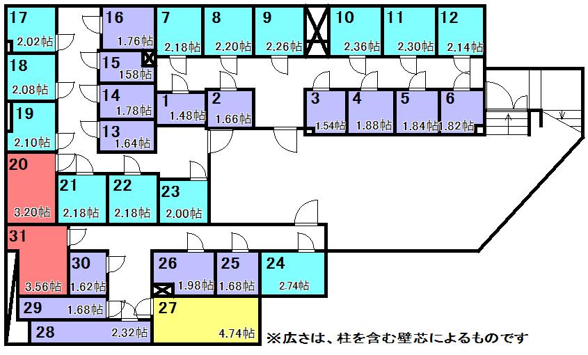 エヌピートランク石神井公園(レイアウト図)