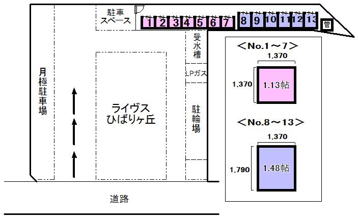 エヌピートランクひばりヶ丘(レイアウト図)