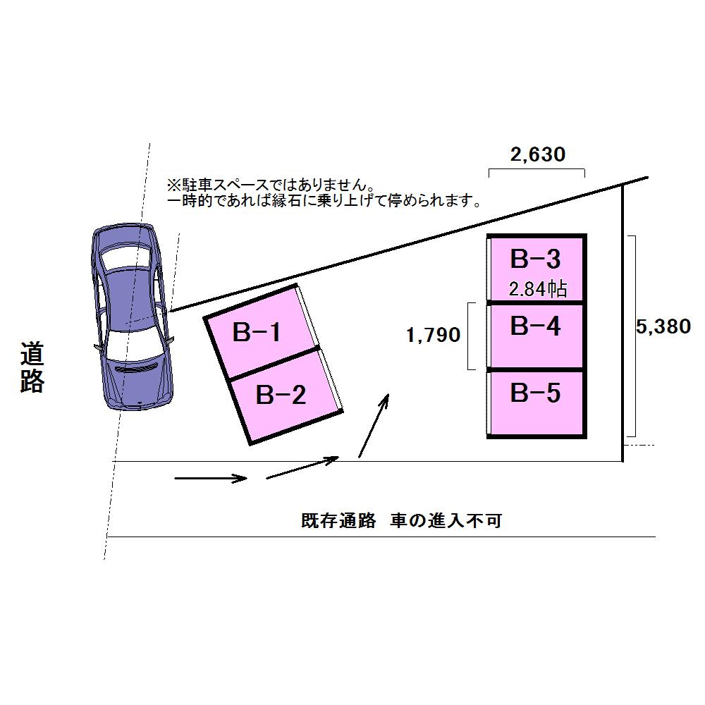エヌピートランク西原町(レイアウト図)
