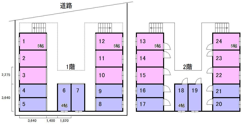 エヌピートランク第二本宿(レイアウト図)