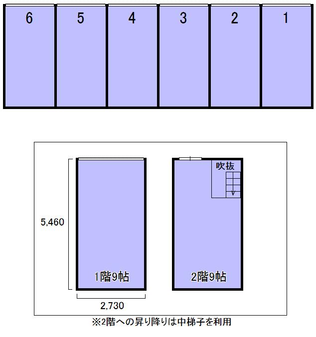 エヌピートランク瑞穂(レイアウト図)