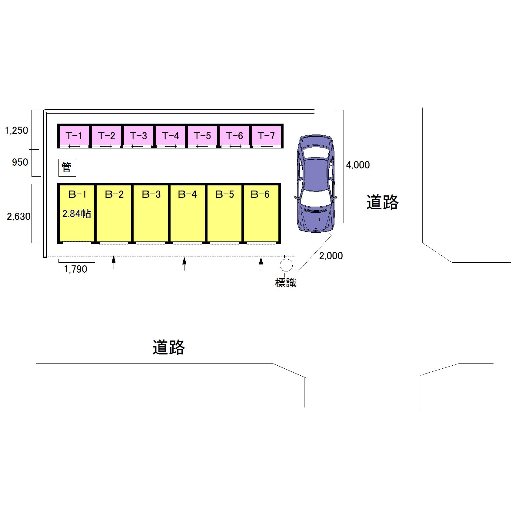 エヌピートランク元町1丁目(レイアウト図)