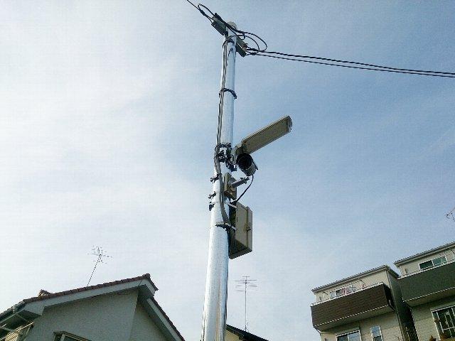 エヌピートランク黒目川(防犯カメラ・外灯)
