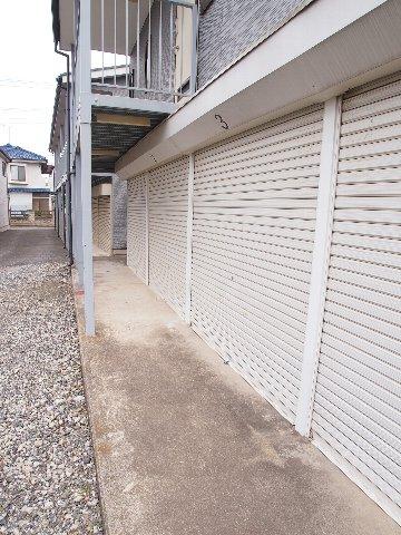 エヌピートランク野火止Ⅲ(1階外観)