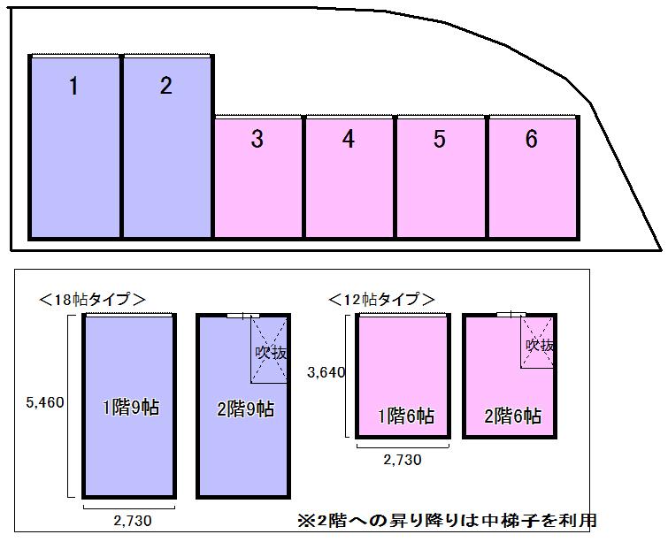 エヌピートランク南沢(レイアウト図)