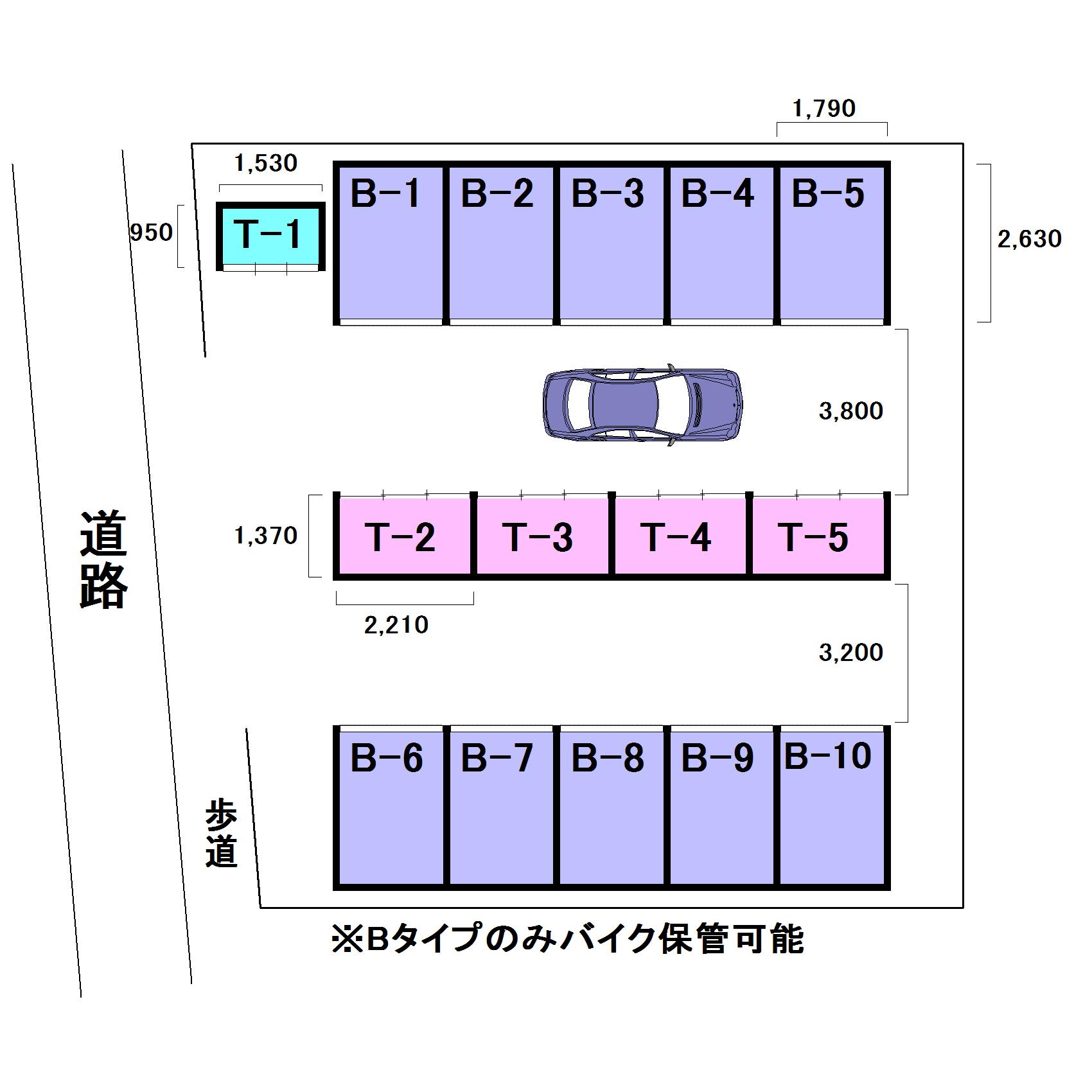 エヌピートランク所沢本郷(レイアウト図)