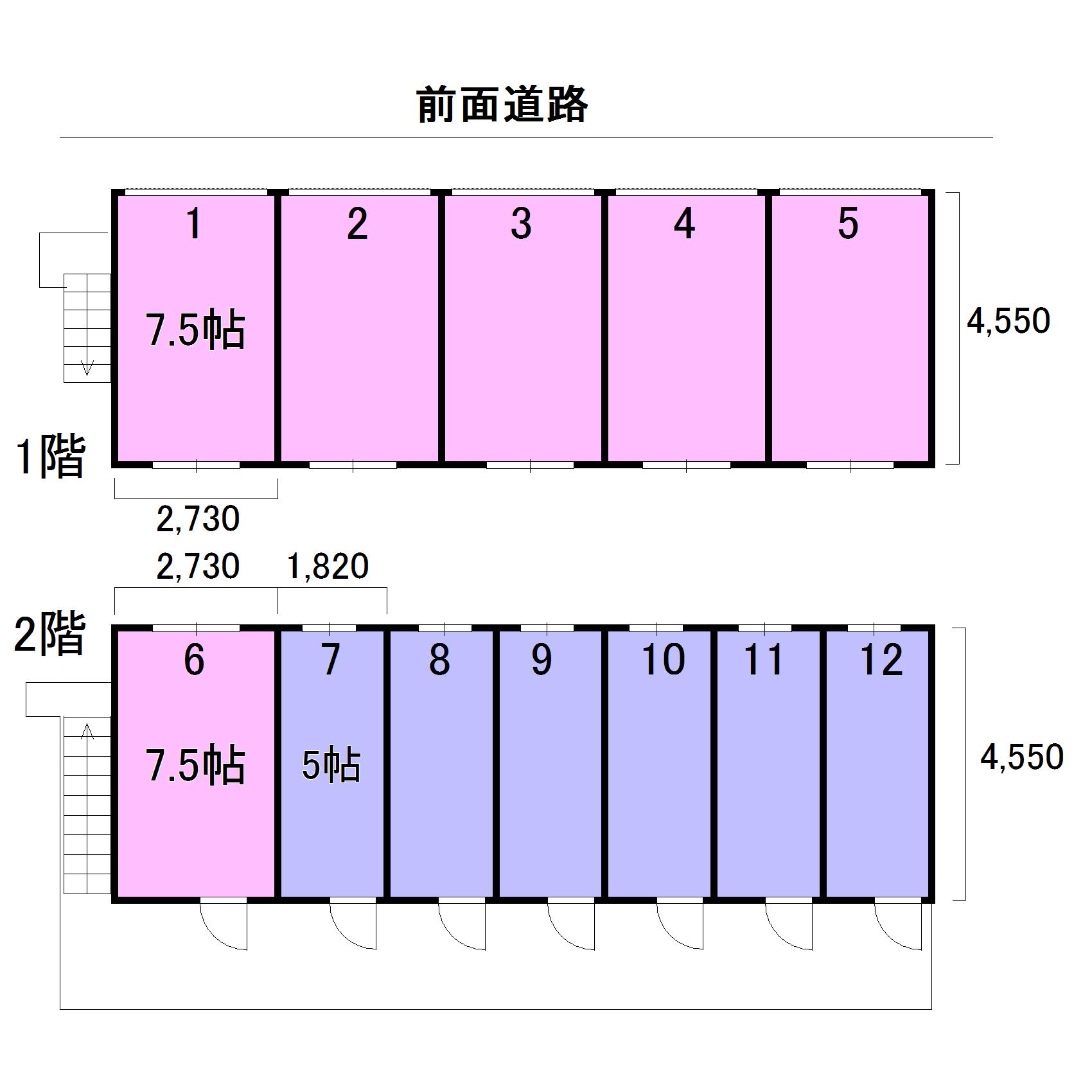 エヌピートランク秋津(レイアウト図)