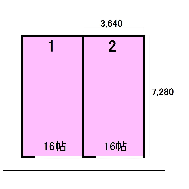 エヌピートランクタマキⅢ(レイアウト図)