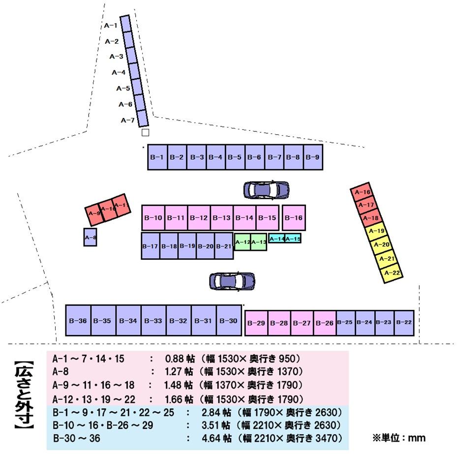 エヌピートランク池田(レイアウト図)