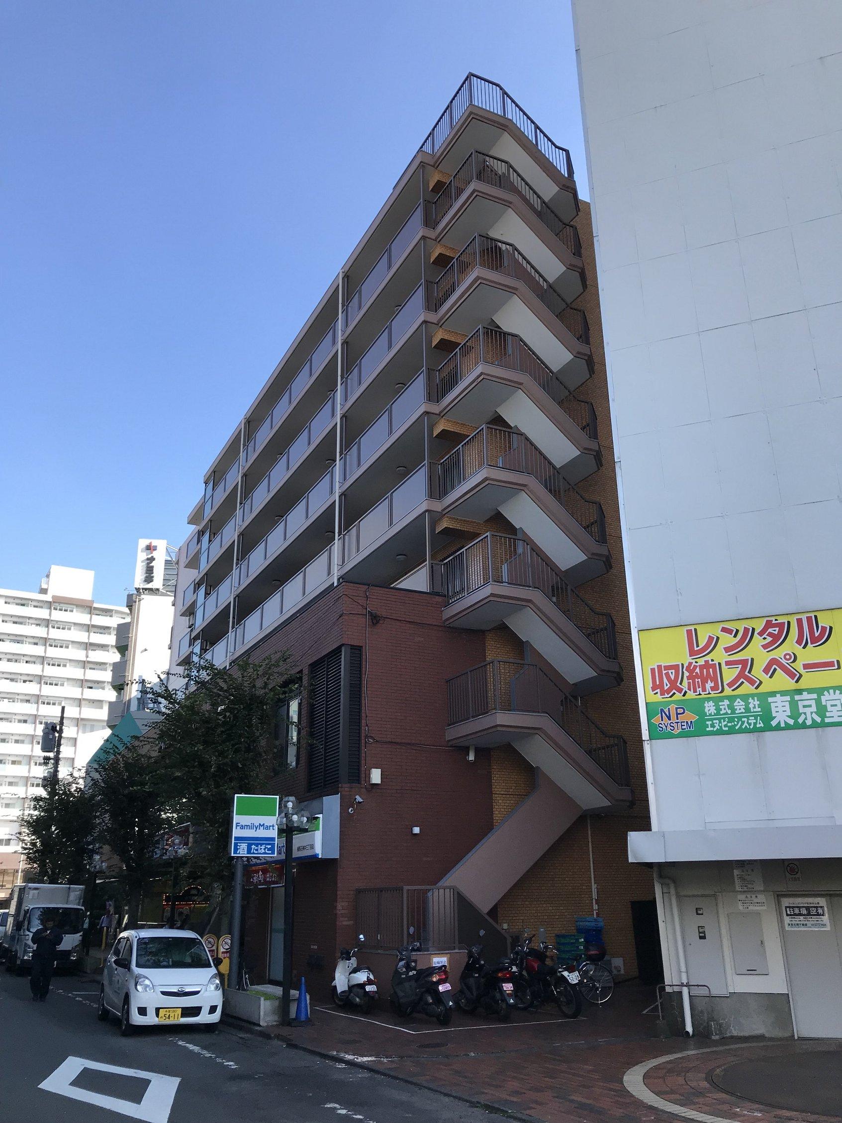 エヌピートランク石神井公園(外観)