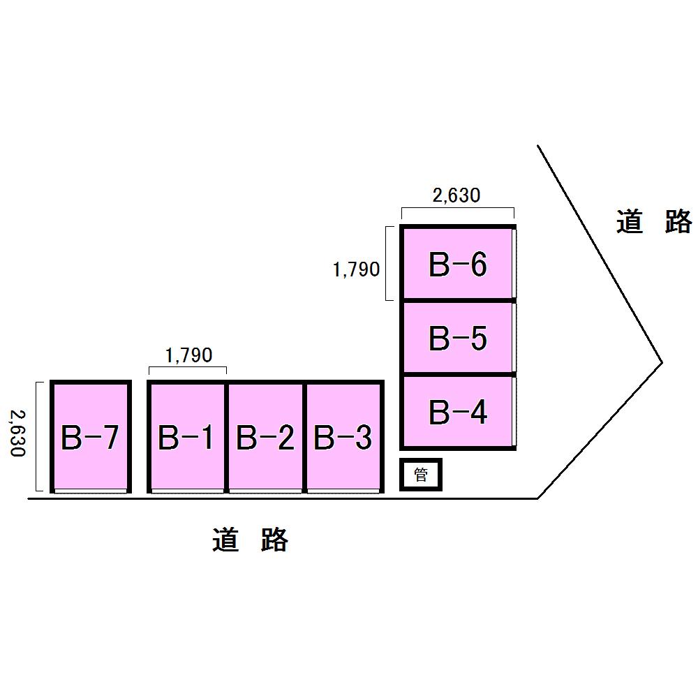 エヌピートランク稲荷山公園(レイアウト図)