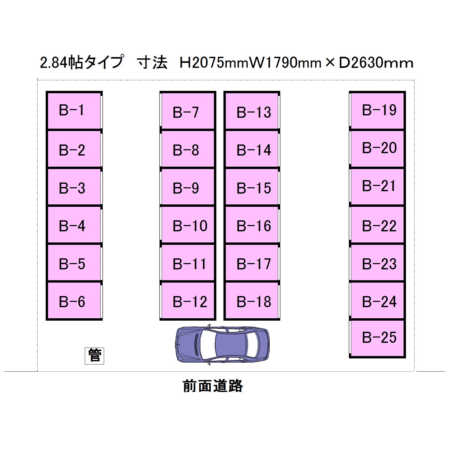 エヌピートランク上清戸Ⅵ(レイアウト図)