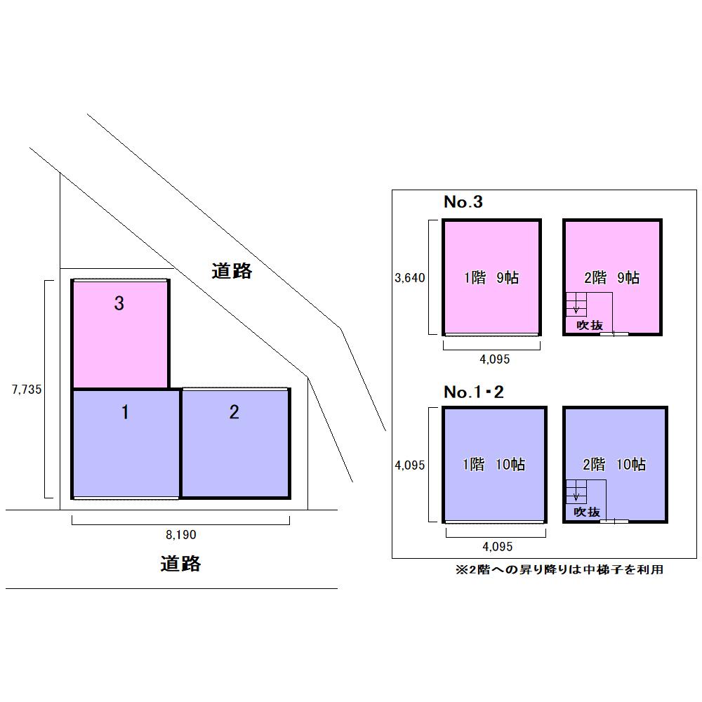 エヌピートランク下里(レイアウト図)