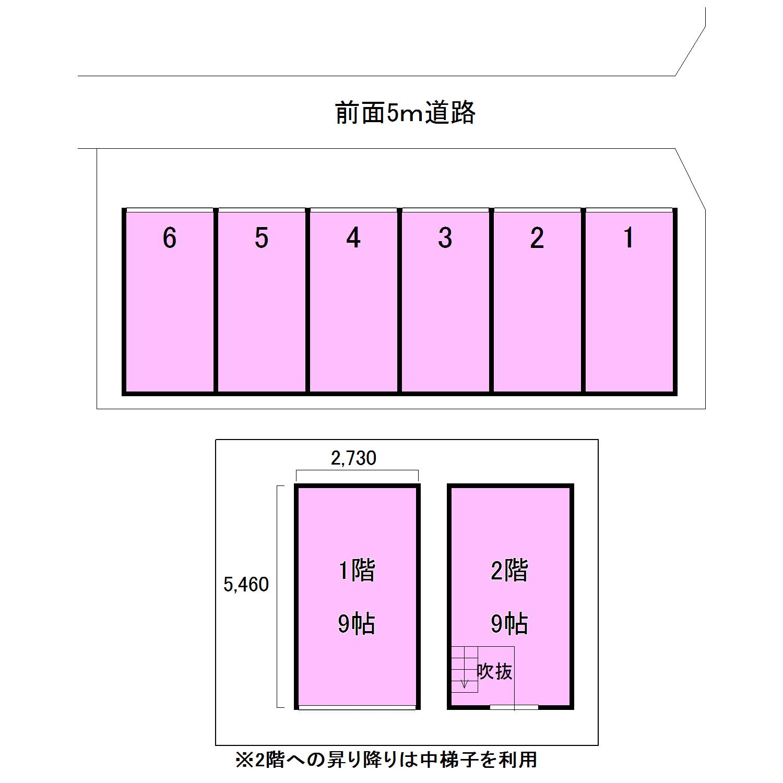 エヌピートランク野火止(レイアウト図)