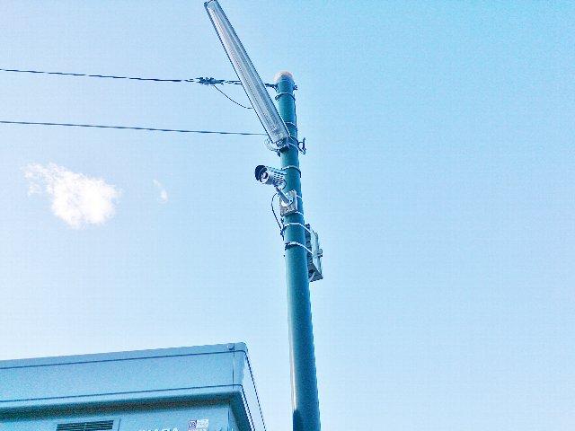 エヌピートランク池田(防犯カメラ)