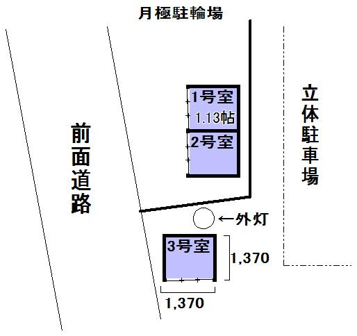 エヌピートランク住吉町(レイアウト図)
