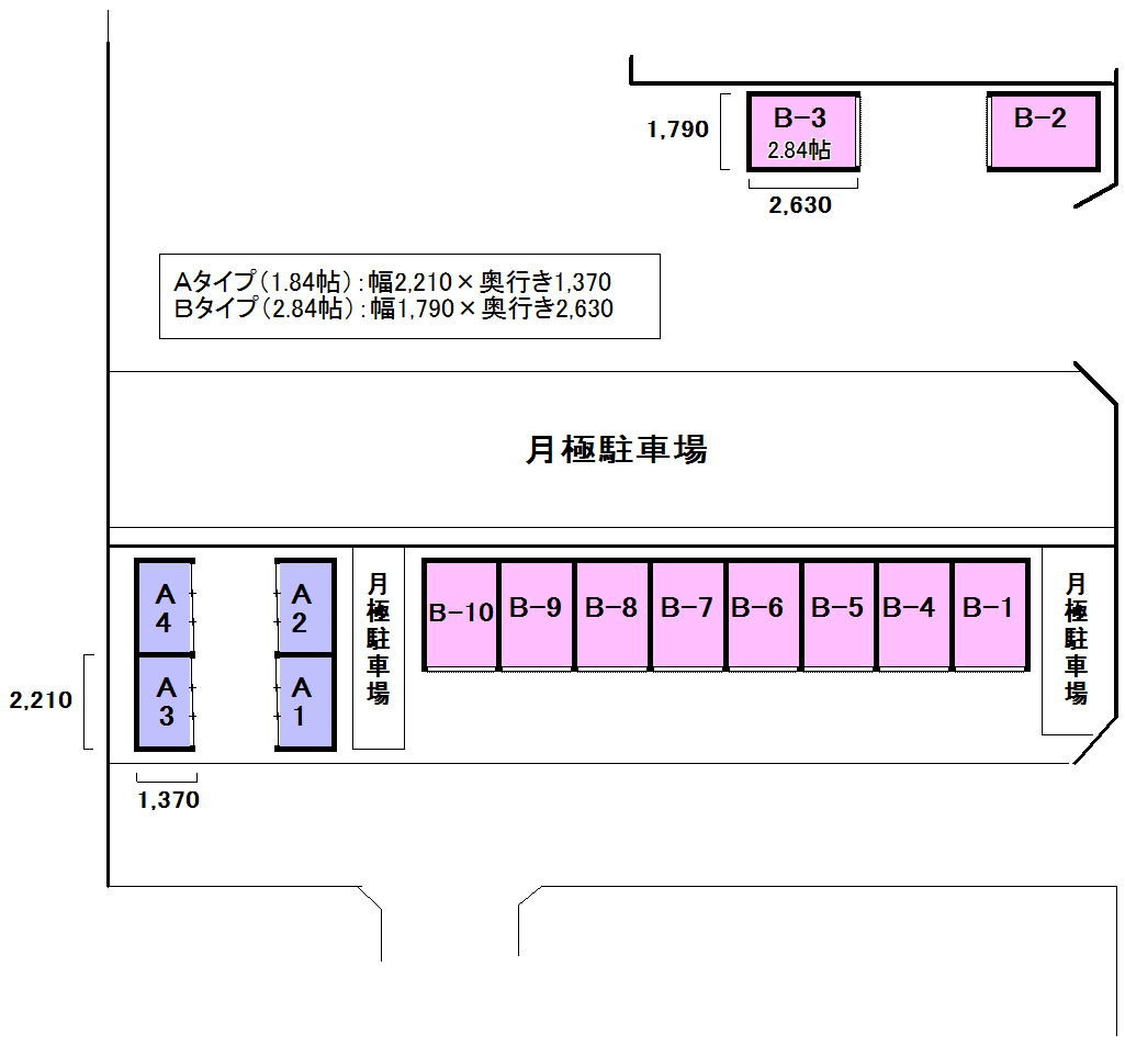 エヌピートランク倶楽部山崎(レイアウト図)