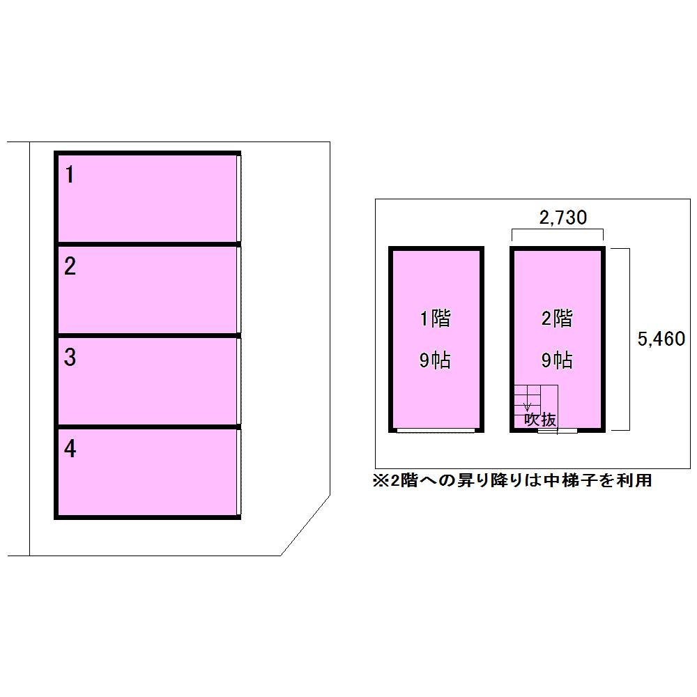 エヌピートランク下清戸Ⅲ(レイアウト図)