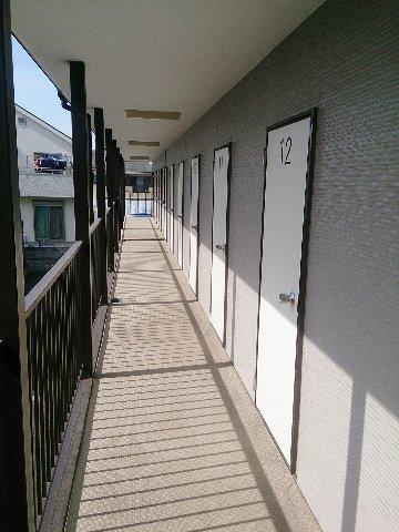 エヌピートランク神明(2階外観)