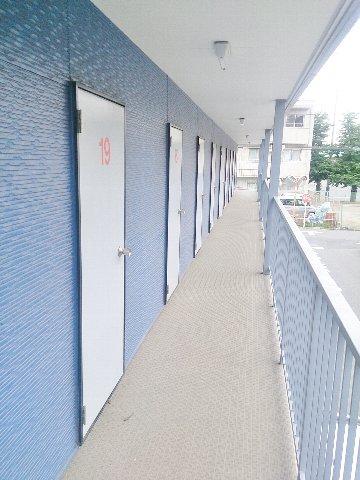 エヌピートランク柳沢(2階外観)
