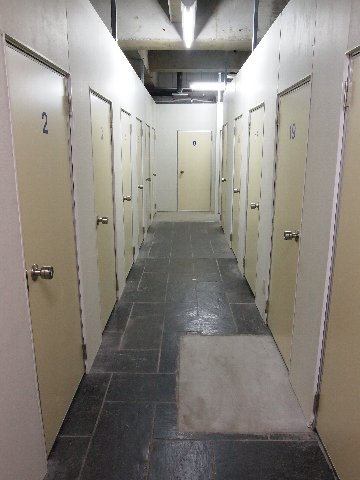 エヌピートランク小川(共用廊下)