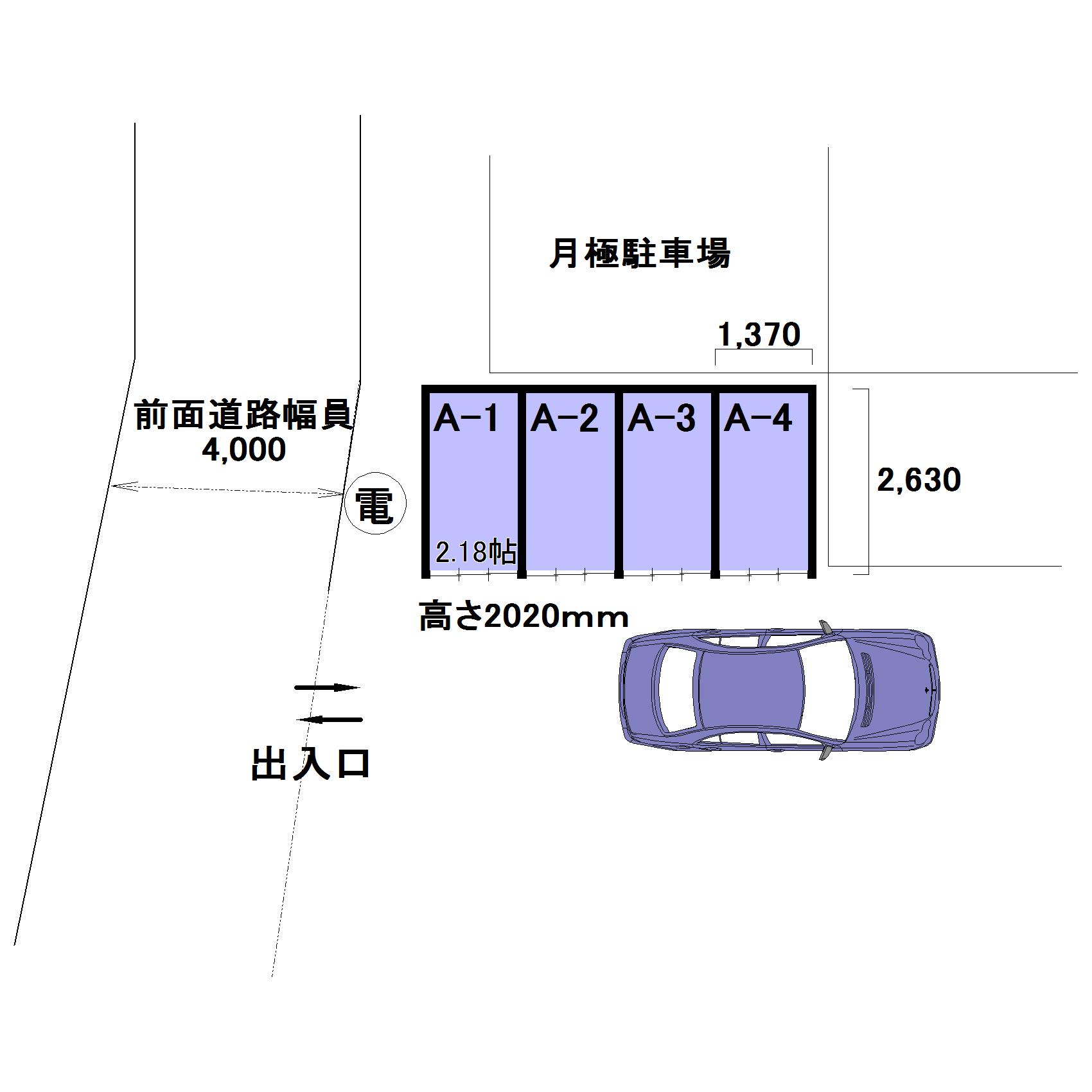 エヌピートランク久米川町1丁目(レイアウト図)