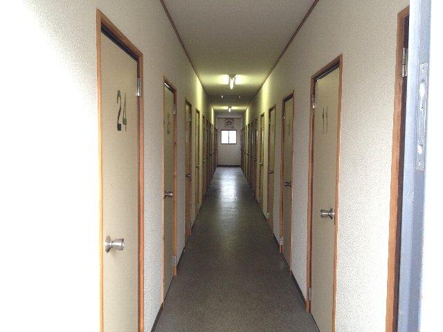 エヌピートランク桜堤Ⅱ(共用廊下)