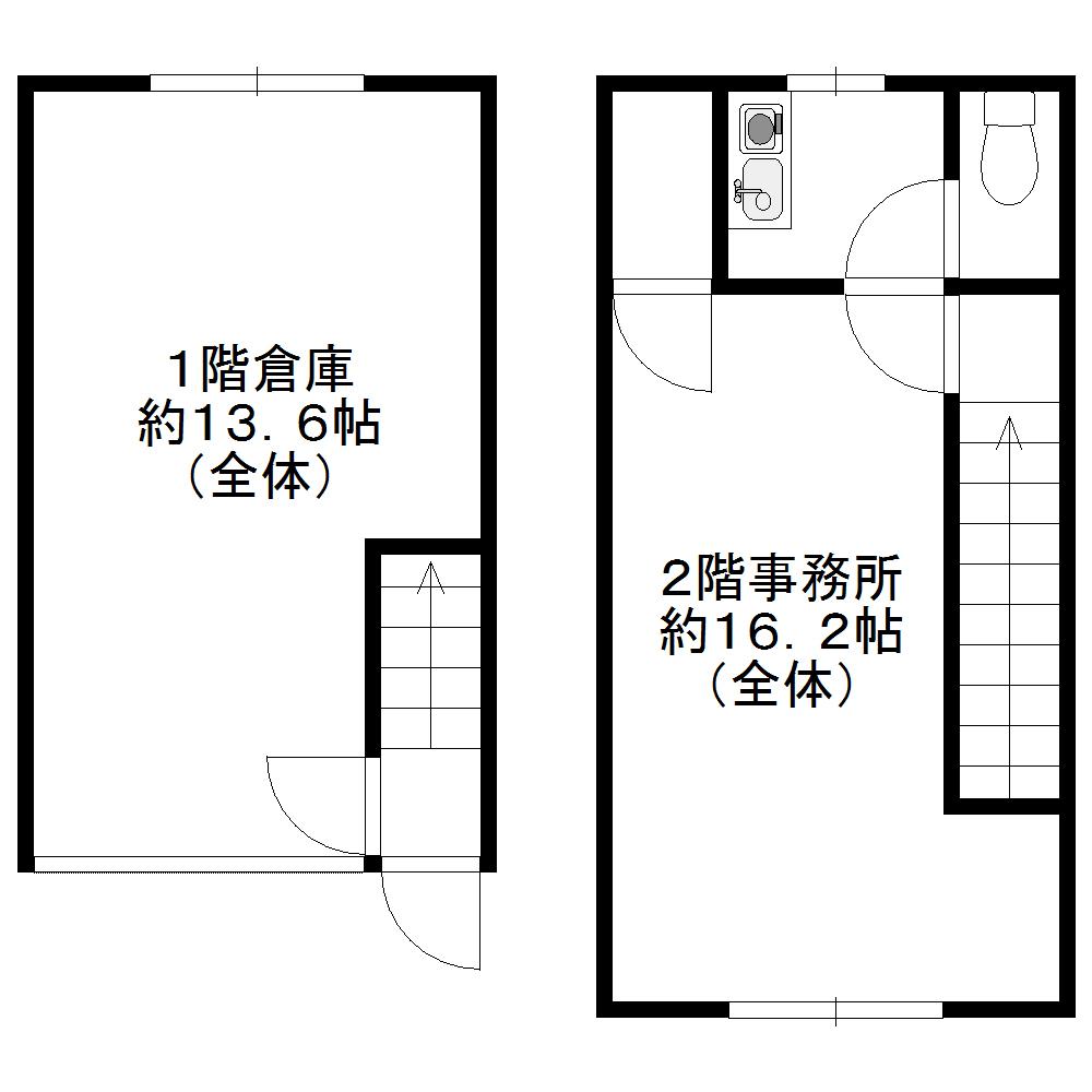 新堀ビジネスプラザ(間取図)