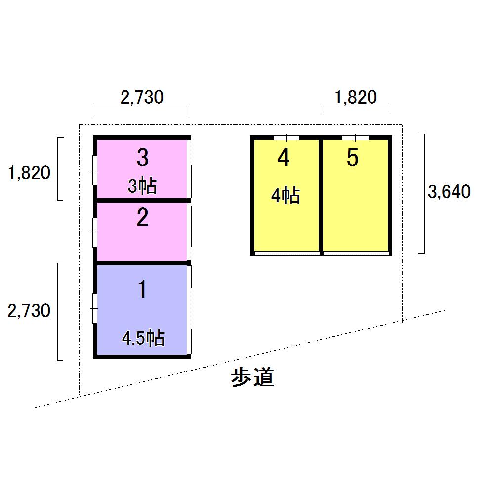 エヌピートランク上清戸(レイアウト図)