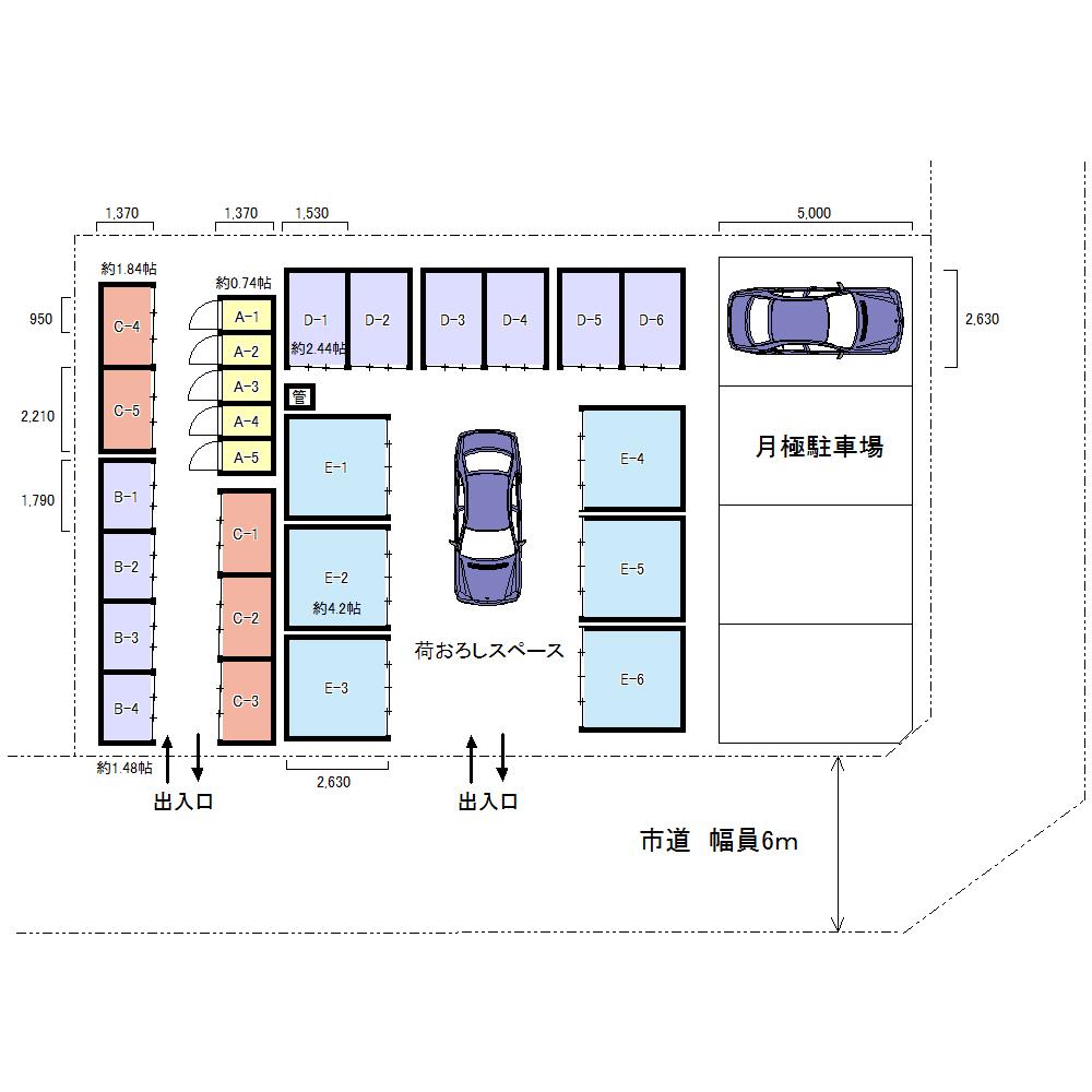 エヌピートランク新堀1丁目(レイアウト図)