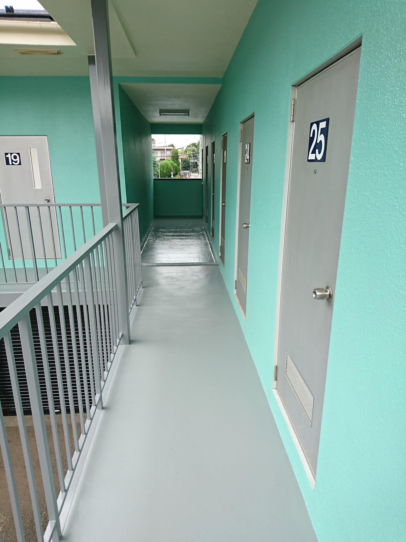 エヌピートランク岡部(2階外観)