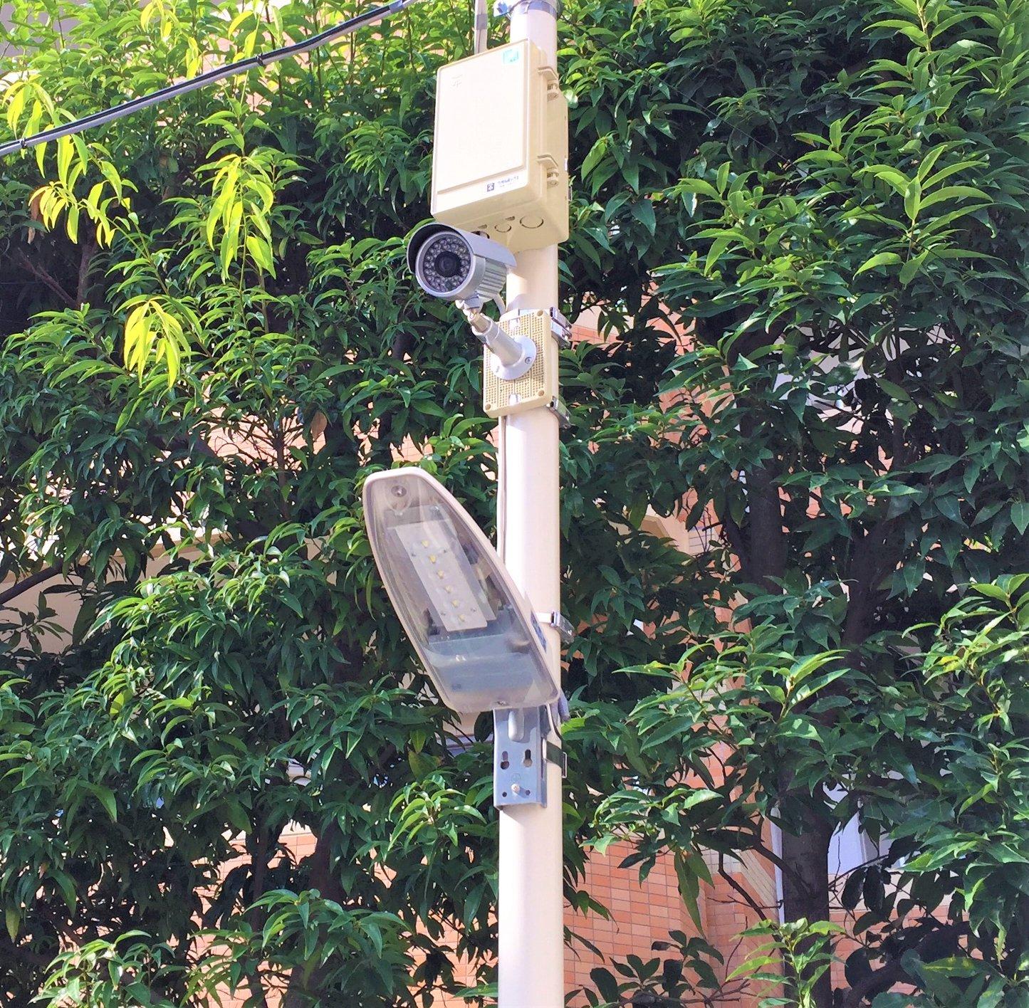 エヌピートランク東村山恩多町(防犯カメラ)