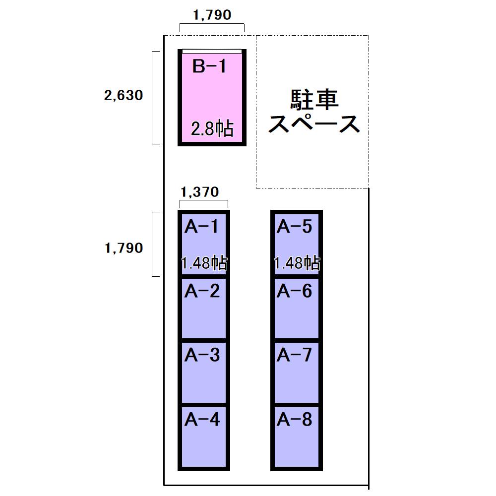 エヌピートランク栄町(レイアウト図)