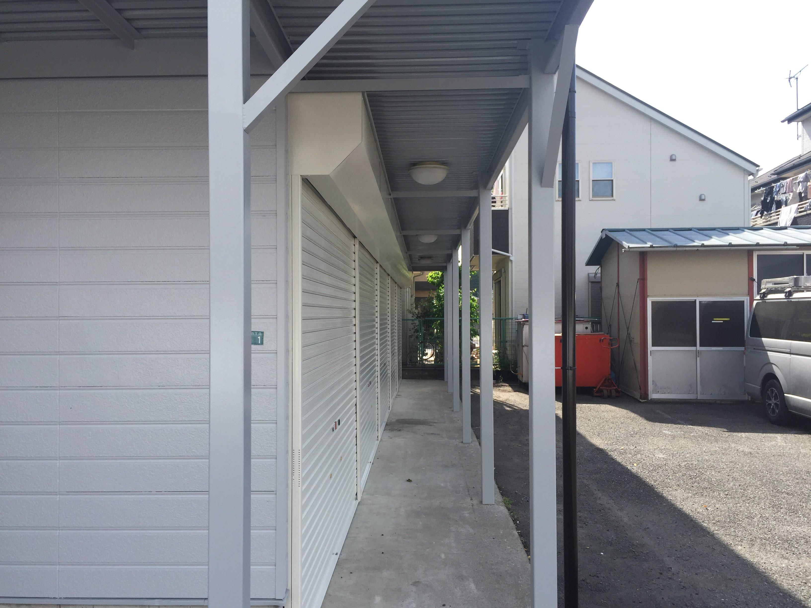 エヌピートランク桜堤(1階廊下)